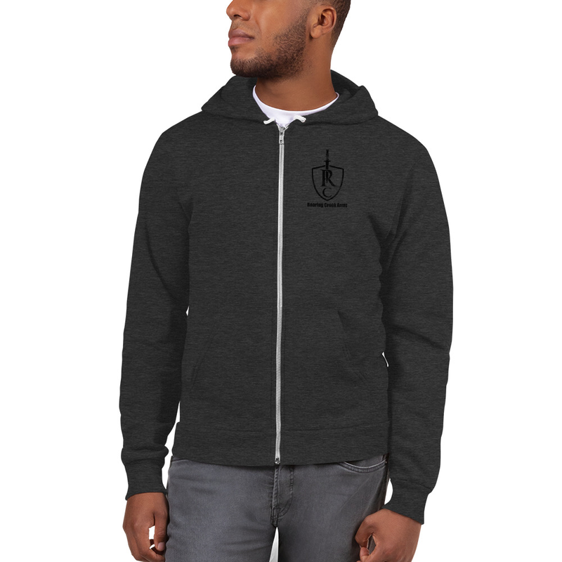 Roaring Creek Arms Zippered Hoodie
