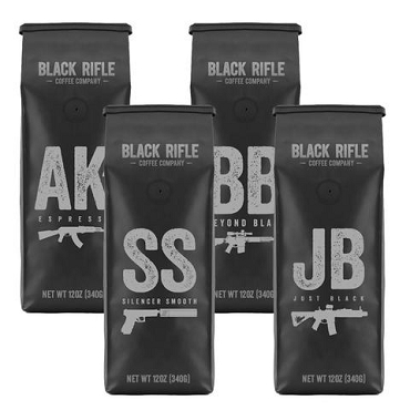 Black Rifle Coffee (call or e-mail to order)