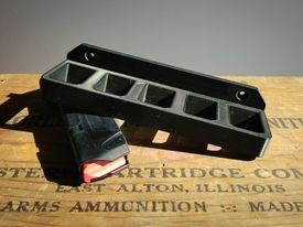 Double Stack Pistol Magazine Rack (one pack)